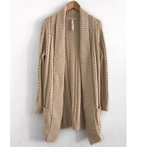 Open cardigan coat sweater size M